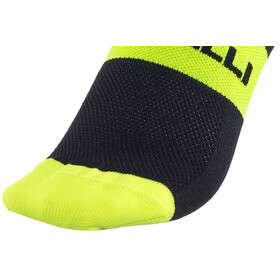 Castelli Rosso Corsa 13 Socks black/yellow fluo